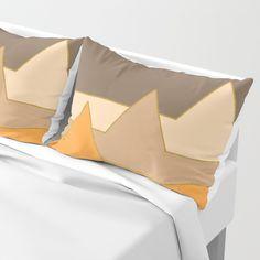 Orange Mountains #society6 #decor #buyart Pillow Sham