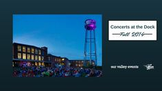 Fall 2014 Concerts on the Dock lineup at Lowe Mil, starting back up in September!