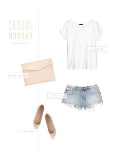Oh So Pretty: Casual Summer Monday Outfit