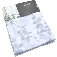 Hillcrest Window Curtains Floral Border Print Grey White Leaves Silhouette Floral Garden Branches Road Pocket Curtains 100% Cotton Drapes 2 Panels 96 Hillcrest http://www.amazon.com/dp/B00WZO6H4M/ref=cm_sw_r_pi_dp_Iy1tvb023T9MH