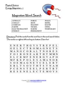 1000 images about magnets on pinterest worksheets 4th grade science and science worksheets. Black Bedroom Furniture Sets. Home Design Ideas