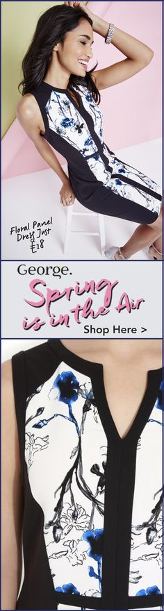 Spring into the new season in style! Get the look for less with George at Asda #SS16 #fashion #style #womensfashion