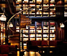 NoMad The dining room is plushly appointed with velvety seats and heavy crimson drapes; the library bar is a glowing split-level imbibing bibliophile's dream with a well-curated collection of books and pretty girls drinking coupes of cocktails with names like Satan's Circus (rye, Thai bird chile–infused Aperol). In other words, there's very little not to like about this sumptuous new hotel restaurant/bar/social scene complex from the boys of Eleven Madison Park (Daniel Humm and Will…