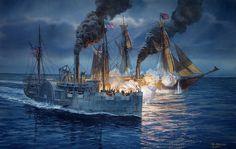 High-Seas Duel: CSS Alabama vs. USS Kearsarge