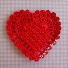 Corações Coloridos p/ Aplique