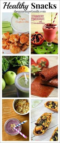 Healthy Snacks  www.thenymelrosefamily.com #healthy #snacks #gameday
