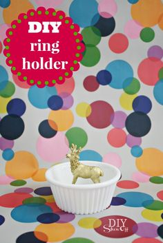 Super Easy DIY Ring & Jewelry Holder - DIY Show Off ™ - DIY Decorating and Home Improvement Blog