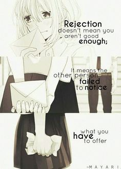 Aw, what a cute way to look at it. Although in the world of Anime, the girls or guys never really got to know the person they confessed to, so in my opinion it's normal. But not all animes follow this concept