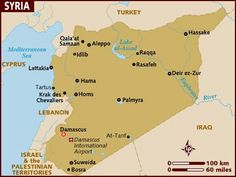 cool Free Map of syria