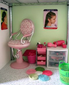 American Girl Dollhouse Salon