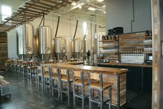 Pfriem Brewery Tasting Room | ORANGEWALLstudios architecture + planning | Archinect