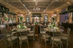 Mesas dos convidados  - Casamento Clássico
