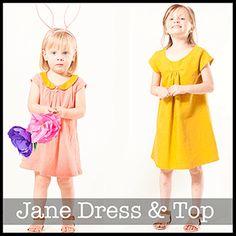 Shwin Designs Jane Top and Dress Sewing Pattern