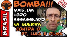 BOMBA !!! HERÓI Leandro Balcone ASSASSINADO NA GUERRA CONTRA O PT