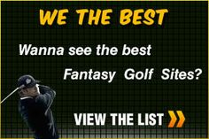 Our graphic for the Top Fantasy Golf sites to play at