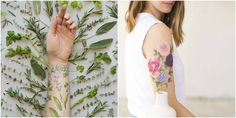 Tattly Scented Temporary Tattoos Are Trending for Summer 2017 | Allure