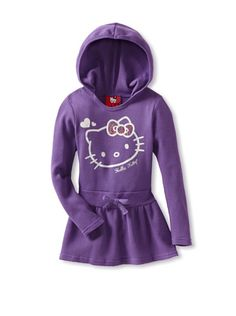 36% OFF Hello Kitty Girl's Thermal Dress (Deep Lavender)