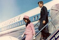 arriving in Dallas before his assassination
