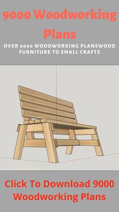 How to Build a Garden Bench in an Hour - Excellent Easy Garden Storage Bench: When I sat down to design this bench, I forced myself to make - Diy Furniture Couch, Outdoor Furniture Plans, Diy Pallet Furniture, Wooden Chair Plans, Simple Furniture, Diy Chair, Furniture Makeover, Furniture Ideas, Woodworking Ideas Table