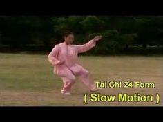 Tai Chi 24 form - slow motion - YouTube