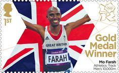 Aspiring Stamp Olympic Athletics Track 2012 London Rare Artstamp Olympic Memorabilia