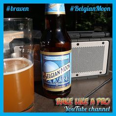 Love the weekends !  Listening to music on my Braven bluetooth speaker and drinking this really great Belgian Moon beer.  #braven #belgianmoon  #belgianmoonbeer  #beer #weekend #instagood #instadaily