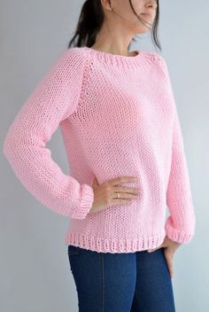 This Fairy Kei Sweater Pattern // Oversized Sweater Menhera Sweater Kawaii Clothing Knit Sweater Easy Sweater Knit Raglan Jumper Knit Pullover is just one of the custom, handmade pieces you'll find in our patterns & blueprints shops. Easy Sweater Knitting Patterns, Cardigan Pattern, Knit Patterns, Knitting Sweaters, Kawaii Pullover, Kawaii Sweater, Raglan Pullover, Oversized Pullover, Ankara Skirt And Blouse