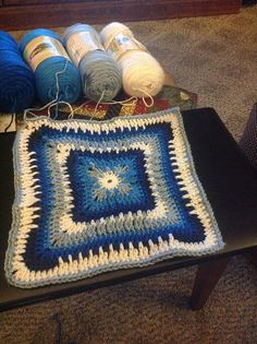 "Ravelry: Project Gallery for Moroccan Window 12"" Afghan Square pattern by Heather C Gibbs"