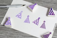 Hey, I found this really awesome Etsy listing at https://www.etsy.com/listing/193417149/party-hat-stamp-party-hat-rubber-stamp