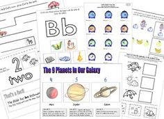 The Catholic Toolbox: Free Kindergarten Worksheets.  Links to sites with free worksheets.
