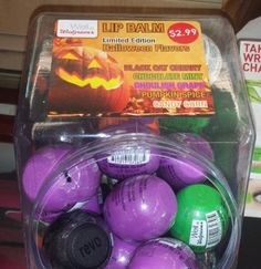 Spotted: Walgreens Revo Halloween 2014 Limited Edition Lip Balm Collection