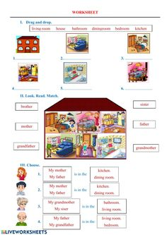 Learn English Kid, Teaching English, Elementary Spanish, Elementary Schools, Teaching Vowels, Worksheets For Class 1, English Classroom, Prepositions, Kids Learning Activities