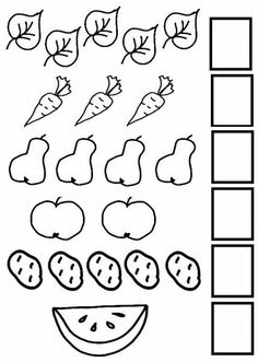 Count the Objects - Mathematics   Count by Shapes Preschool Writing, Numbers Preschool, Preschool Learning Activities, Free Preschool, Math Numbers, Printable Preschool Worksheets, Free Kindergarten Worksheets, Math For Kids, Shapes