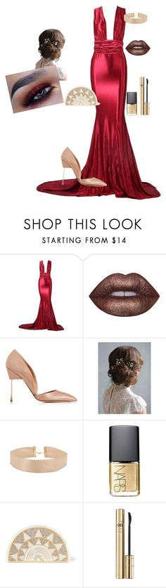 """""""Untitled #44"""" by sadie3132 on Polyvore featuring Lime Crime, Kurt Geiger, NARS Cosmetics, Charlotte Olympia and D&G"""