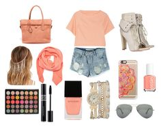 """""""Peachy"""" by emilybeauty101 on Polyvore"""