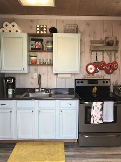 Custom Container Home - Tiny House for Sale in null, Texas - Tiny House Listings Kitchen Storage Containers, Storage Container Homes, Shipping Container Homes, Container Houses, Shipping Containers, Small Cottage Homes, Tiny Homes, Cottage House, Style Rustique