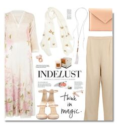 """""""Indelust.com: Think in magic!"""" by hamaly ❤ liked on Polyvore featuring Aglaia, Diya, Giuseppe Zanotti, women's clothing, women's fashion, women, female, woman, misses and juniors"""