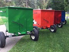 Garden Tractor Attachments, Farm Layout, Tractor Implements, Dump Trailers, Future Farms, Utility Trailer, Backyard Farming, Hobby Farms, Small Farm