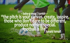 This is one by far a great one I really love this one it's so great soccer is art your own form of art