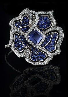Sapphire and diamond ring by Leviev