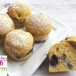 Muffins mit Hafermehl (glutenfrei, kohlenhydratreduziert, milchfrei, ohne Zuckerzusatz, sojafrei) Hamburger, Muffins, Bread, Food, Oat Flour, Sugar, Food Food, Food Recipes, Meal