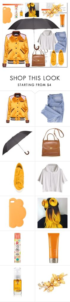 """rainy day"" by ilona-828 ❤ liked on Polyvore featuring Coach, Essie, Harrods, Ports 1961, STELLA McCARTNEY, COLAB, Moroccanoil, Tabitha James Kraan, Jennifer Behr and rainyday"