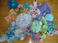 "Steven says, ""In keeping with your coverage of the crocheted coral reef, i thought you might be interested in the coral reef that my friend sylvia has been working on since last year. she uses pipe..."