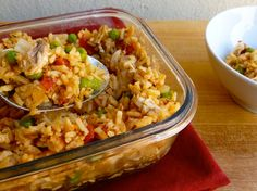 Weight Watchers easy arroz con pollo is a healthy and delicious prizewinning family recipe with 348 calories and 9 pointsplus