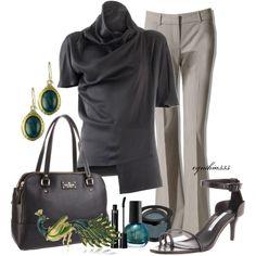 Work Wear (Haider Ackermann Silk Satin Short Sleeve Top $390)