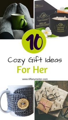 10 Great Cozy Gift Ideas for Her - Tiffany Meiter Mug Cozy, Mom Group, Inexpensive Gift, Cozy Blankets, Creative Gifts, Hygge, Warm And Cozy, Gift Guide, Tiffany