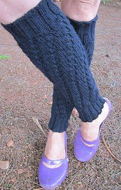 Ravelry: Spiral legwarmers pattern by Beatriz Medina