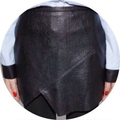 Asymmetrical Faux Leather Skirt Cheaper on Merc, Brand new in packaging, never worn. Purchased and then never wore it due to a change in personal style. Was a host pick from other shop! Has been in packaging for awhile, may need to be cleaned to iron out the folding creases. ASOS Skirts