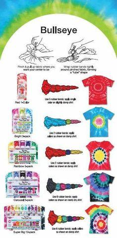 Tie Dye Crafts, Crafts To Do, Crafts For Kids, Diy Crafts, How To Tie Dye, How To Dye Fabric, Tie Dye Tips, Kids Tie Dye, Tye Dye
