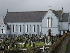 Thanks to Marie Carney for photo of this Roman Catholic church. Abandoned Churches, Roman Catholic, Lake District, Family History, Ireland, Mary, Catholic, Irish